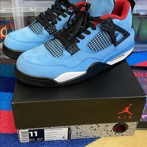 "Jordan retro 4 ""Travis Scott"""